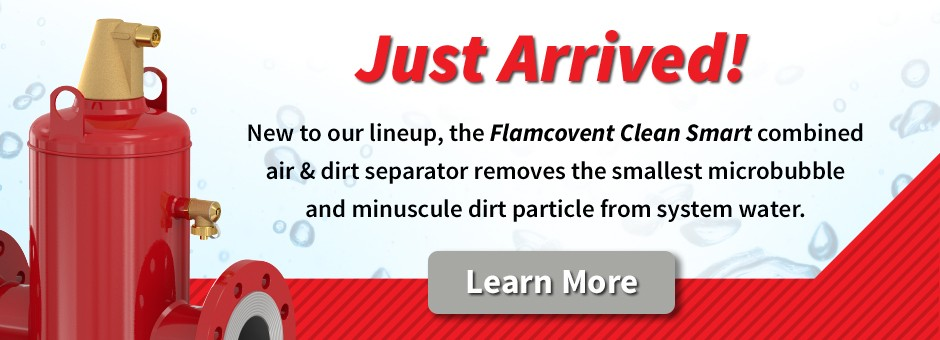 Commercial Flamcovent Clean Smart